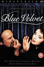 BLUE VELVET DVD 2 DISC SPECIAL EDITION David Lynch Classic Brand New Sealed UK