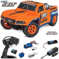 Traxxas 76044-1 LaTrax SST 1/18 4WD Truck Robby Gordon Orange #7 RTR w/ Radio