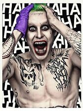 Suicide Squad Joker Jared leto Wall Art / Poster Print A3 260gsm