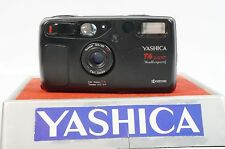 YASHICA T4 SUPER WEATHERPROOF W/TESSAR 35MM f3.5 LENS *AS-IS - FOR PARTS/REPAIR*