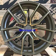XXR 559 18 x 8.5 +35 Bronze Rims Wheels 5x114.3 15 16 17 Acura TLX 04 08 TL TSX