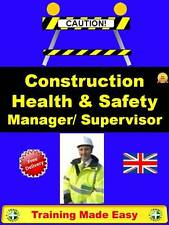 UK PRO MANAGER SUPERVISOR CONSTRUCTION HEALTH AND SAFETY TRAINING MADE EASY