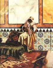 A3 Box Canvas Gnaoua In A North African Interior
