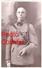 Soldat 39eme RA ( ? ) Portrait en buste - Veste 4 poches col aiglon  Photo-carte