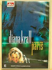 Diana Krall - Live In Paris (DVD, 2002)
