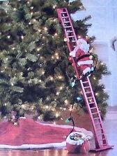 Brand New Mr. Christmas Animated Super Climbing Santa