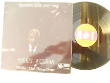 TEDDY WILSON / OVE LIND SWING LP SWEDISH JAZZ MY WAY original stereo SONET 618