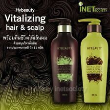 2Pcs Shampoo Scalp & HyBeauty Vitalizing Hair and Conditioner herbal natural