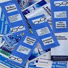 350 FEUCHTE Brillenputztücher 1A-Qualität BRILLENPUTZTUCH SONDERPOSTEN
