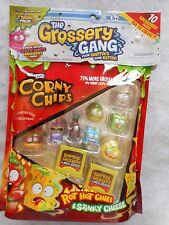 New in Package The Grossery Gang 10 Pack Corny Chips Moose Toys Shopkins Maker