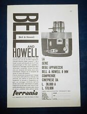 A056-Advertising Pubblicità-1959-BELL AND HOWELL - CINEPRESE