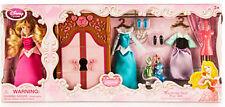 Aurora Wardrobe Doll Play Set Sleeping Beauty Clothes Disney Gift Authentic