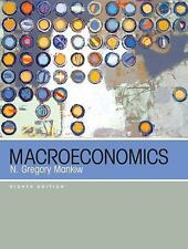 Macroeconomics by N Gregory Mankiw Hardcover US 8th Edition