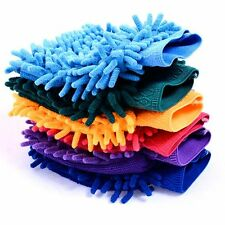 Fiber Durable 1 Pcs Valeting Microfiber Mitt Gloves Wash Cleaning Car Chenille