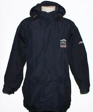 MUSTO Volvo Ocean Race GORE-TEX Men Fleece Lined Navy Blue Hooded Jacket, Size L