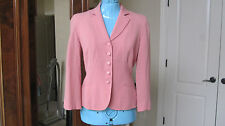 Moschino Cheap and Chic Blazer Jacket Pink Size XS 4 to 6