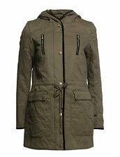 Vila Womens Malloni Coat Ivy Green Jacket BNWT RRP £68 Large 14 UK FREEPOST