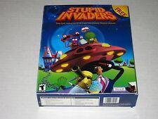 Stupid Invaders  (PC, 2001) Rare Pop-Up Big Box Version