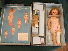 VINTAGE MADAME ALEXANDER MARYBEL The Doll That Gets Well 1950's w/BOX