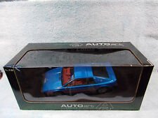 1/18 1998 LOTUS ESPRIT TURBO S2 IN METALLIC BLUEREDWHITE BY AUTO ART.