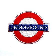 UNDERGROUND London UK Travel Backpack Subway Railway Emblem T-Shirt Iron Patch