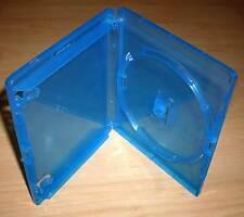 10 Blu Ray Hüllen Case Cases Hülle blau für Blu-Rays Blue Ray 14mm 1fach Neu