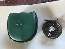 V good orvis battenkill disc england 5/6 trout fly fishing reel + case
