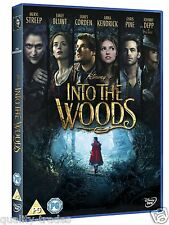 ❏ Into the Woods DVD Disney Film Movie ❏ Grimm Fairy Tales Meryl Streep et al.