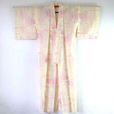 Japanese Vintage Cream Kimono K17