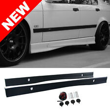 92-99 BMW E36 3-SERIES 2DR/4DR M3 STYLE PP SIDE SKIRTS