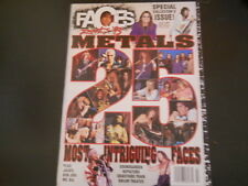 Bon Jovi, Van Halen, Poison, Aerosmith, Mr. Big - Faces Rock Magazine 1993