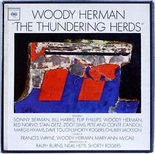 WOODY HERMAN The Thundering Herds - 3 LP US BOX SIGNED