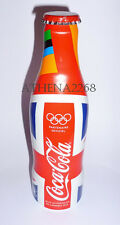 Coca Cola Union Jack alu bottle France edition 2012 -Olympic Games -