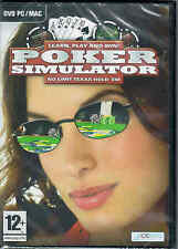 POKER SIMULATOR NEW SEALED PC GAME