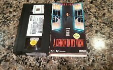 A DEMON IN MY VIEW RARE VHS! VIDMARK 1992 MANNEQUIN HORROR! ANTHONY PERKINS