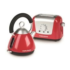 Morphy Richards Toaster & Kettle Toy Set - Casdon Red & Childs Play Pretend