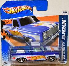 HOT WHEELS 2011 HW RACING '83 CHEVY SILVERADO BAD CARD