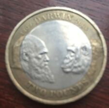 200th anniversary of Charles Darwin - 2009 £2 Coin Rare.