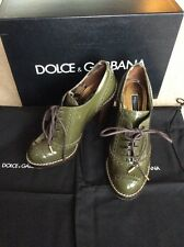 DOLCE&GABBANA womans shoes with box dust bag size 36.5 PPR£450 worn only 2hours