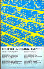 FOUR TET Morning Evening 2016 Ltd Ed RARE Poster +FREE Psych/Rock/Indie Poster!
