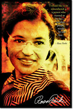 ROSA PARKS ART PHOTO PRINT POSTER GIFT CIVIL RIGHTS QUOTE