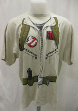 Ghostbusters Men 2XL Staff Uniform Graphic T Shirt Officially Licensed GR4