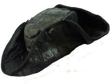 Black Pirate Tricorn Hat Jack Sparrow Fancy Dress Unisex Costume