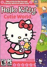 Hello Kitty: Cutie World (PC, 2002) NEW SEALED