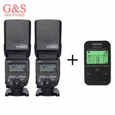 2pcs Yongnuo YN685 TTL HSS 1/8000 Flash Speedlite +YN622C TX Flash Trigger For C