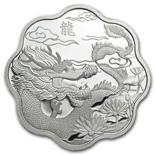 Canada 2012 $15 Year of the Dragon Lunar Lotus 26.7g Silver Proof Coin