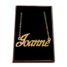 Gold Plated Name Necklace - JOANNE - Gift Ideas For Her - Accessories Identity