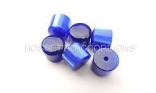 Accordion BUTTONS PISTONS BLUE Harmonika Knöpfe 13.8x11.5 (mm) SET OF 6