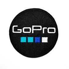 Gopro Hero Camera Motor Sport Bike Racing Embroidered Jacket Shirt Iron on Patch