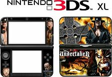 Nintendo 3DS XL 3DSXL THE  UNDERTAKER Vinyl Skin Decal Sticker